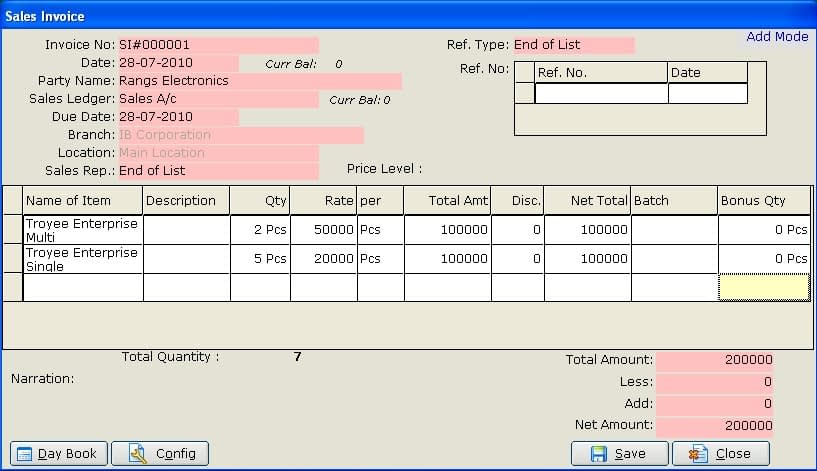 Accounting software in Bangladesh Troyee